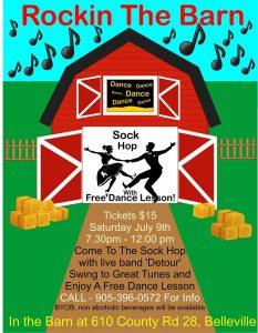 Belleville Barn Dance Poster